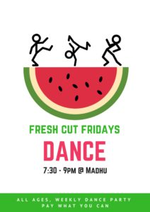 Fresh Cut Friday Poster 3
